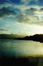 Sunset over Lake Arenal