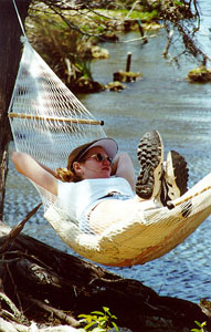 Amy Laughinghouse in Hammock